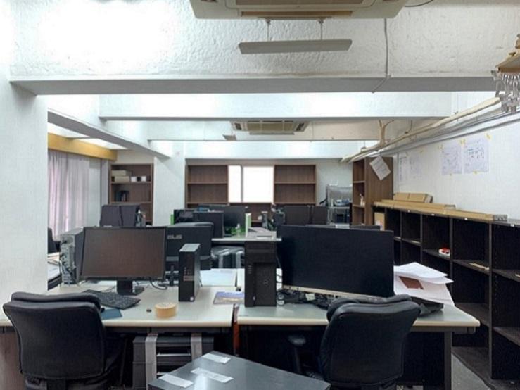 東京本社Before