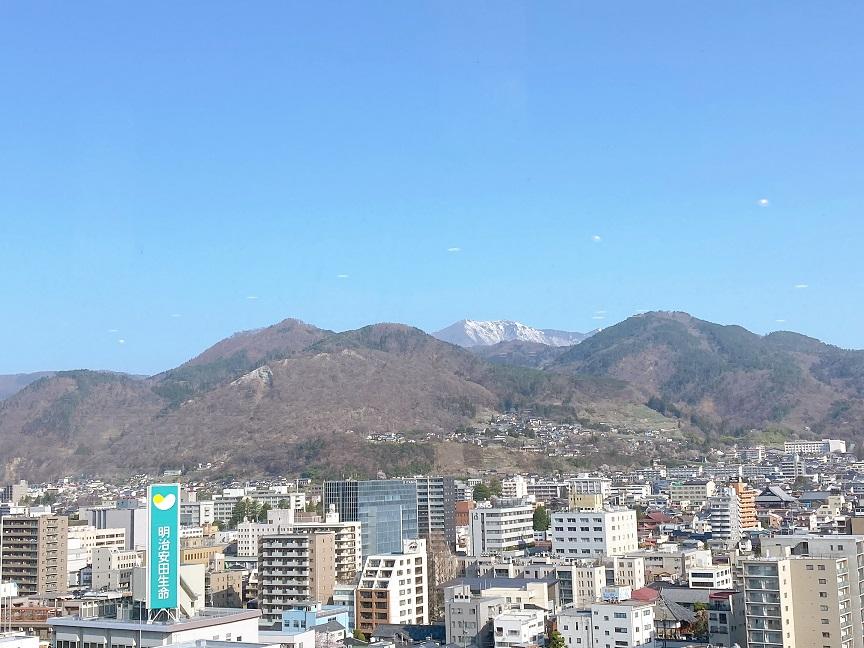 宿泊ホテルからの景色